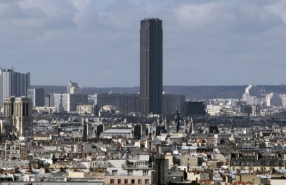 (FILES) - Picture taken on April 1, 2010 shows the Montparnasse Tower, located in the 15th arrondissement of Paris. The main entrance of the highest office building in France was closed on July 5, 2010 in the morning, after an important power cut in Paris that left 70 000 homes stranded on July 4, 2010 during the night and still circa 700 clients at the beginning of the afternoon on July 5, 2010, according to ERDF (French electricity distribution netwrok) and RTE (French electricity transmission network) networks. AFP PHOTO/JACQUES DEMARTHON (Photo credit should read JACQUES DEMARTHON/AFP/Getty Images)